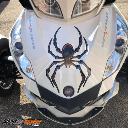 bellerdine spider Black-Orange option