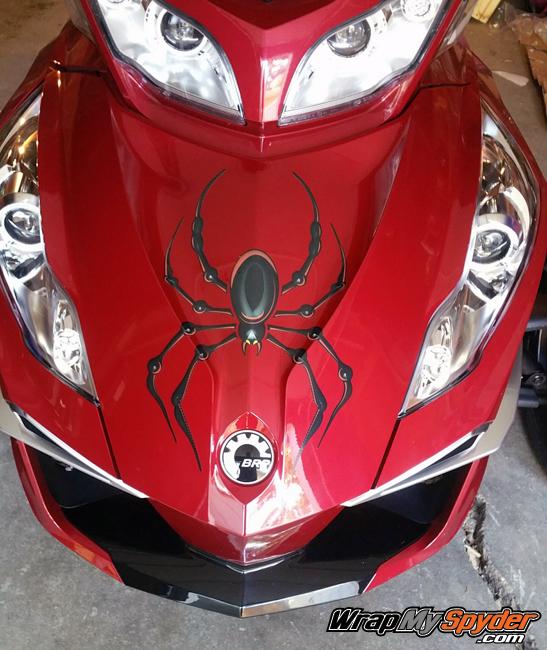 Bellerdine Spider design for Can am Spyder