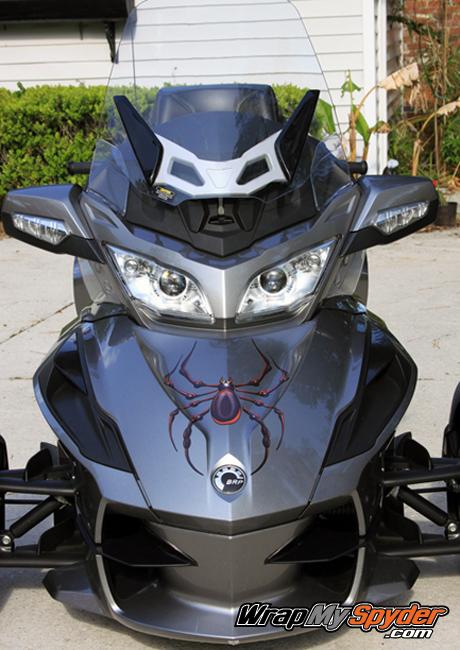 RT Bellerdine spider in Red - Black