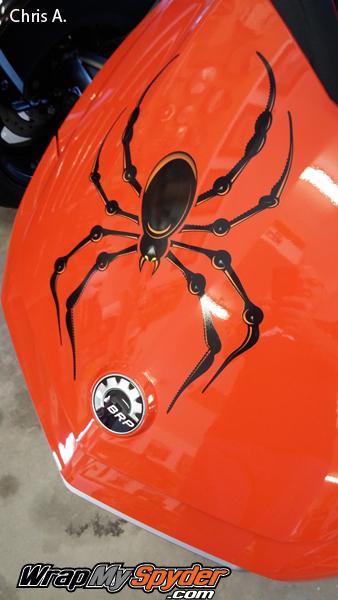 F3 Bellerdine Spider accent kit