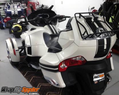 BRP-Can-am-Spyder-RT-GT-racing-stripes-matte-Black-finish