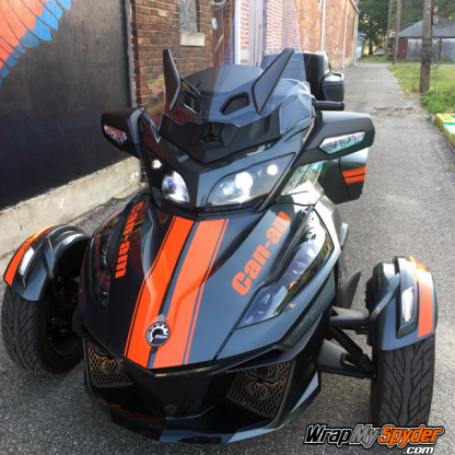 BRP Can-am Spyder RT can-am-Red-RT GT Racing Stripes