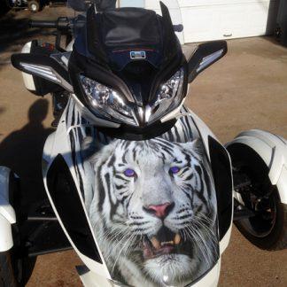 White-Tiger-frunk wrap