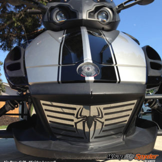 Spider Louver Chrome Air dam grill insert