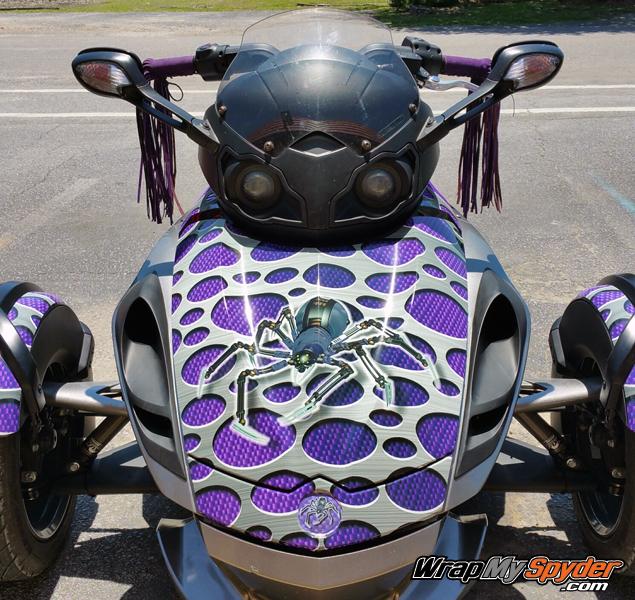 Carbon Punch Purple