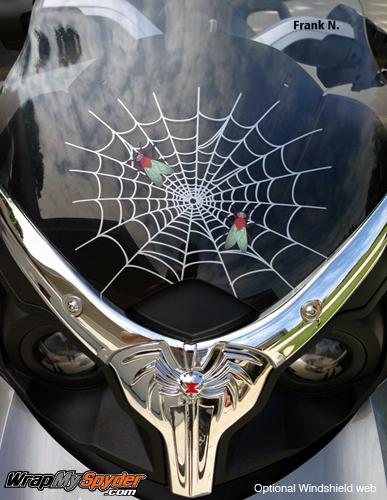 Web -Spider-Fly Windshield