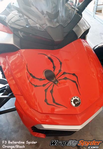 F3 Bellerdine spider with orange accents