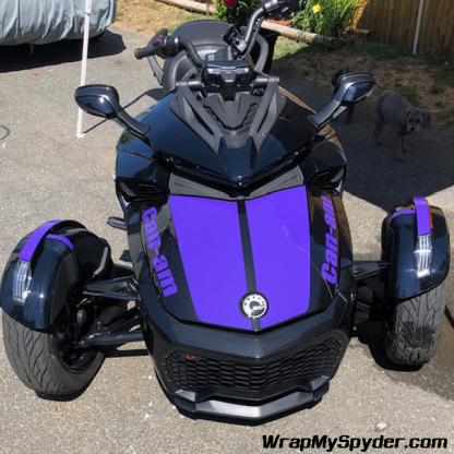 BRP Can-am Spyder F3-LeMans-with can-am-text-Purple