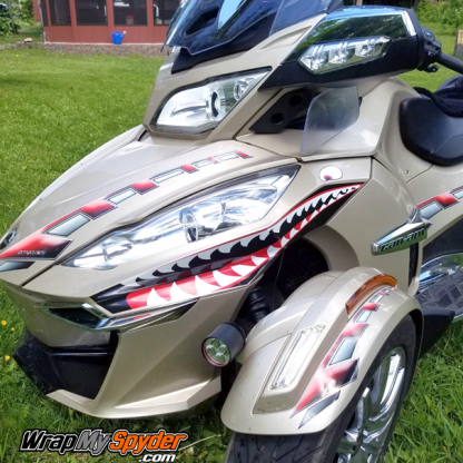 BRP Canam Spyder-Teeth-for-Can-am-Spyder