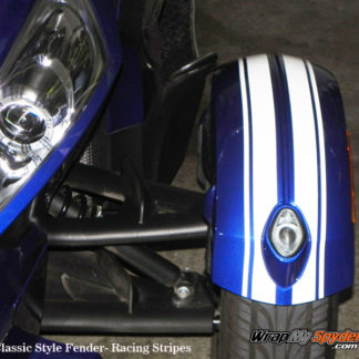 Classic Style Fender GT Racing Stripes