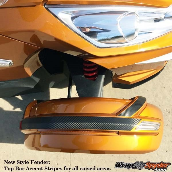 NEW Style - fender tops in carbon fiber