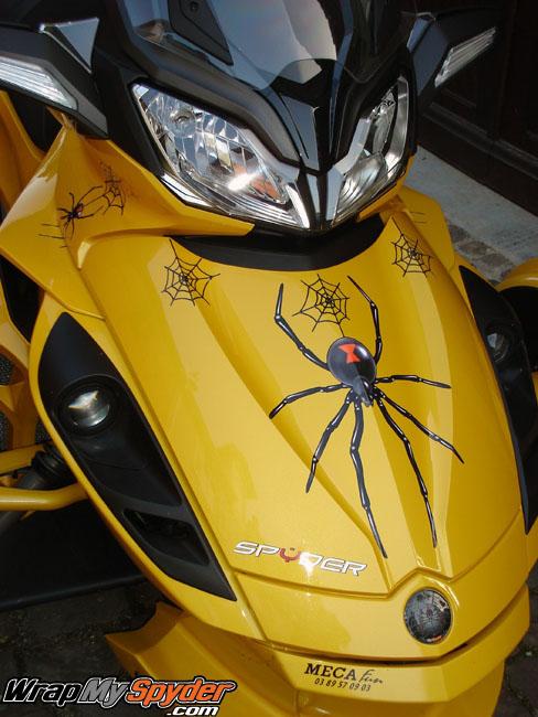 3D Spider Graphics kit Widow Maker