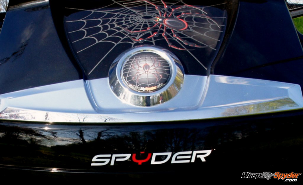 Bellerdine web Spyder RT rear trunk
