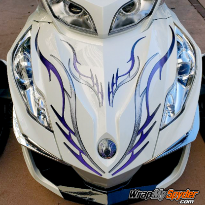 BRP-Can-am-Spyder-decal-set-Barbwire-101-Purple