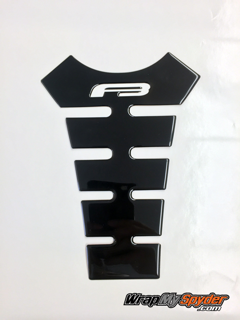 F3 Spine tank protector Gloss Black