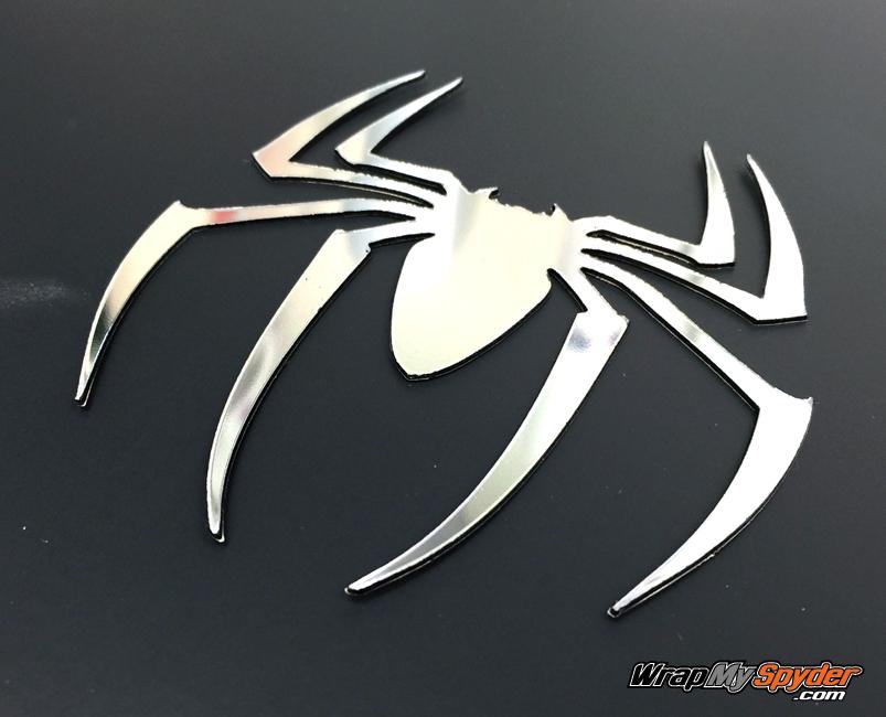 ABS Conform Chrome Spider emblem