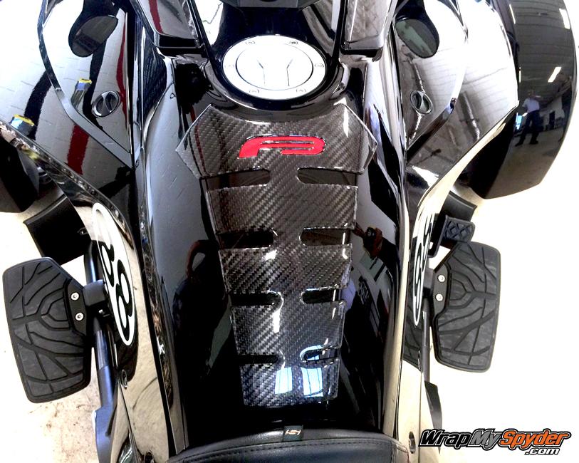 BRP Spyder F3 Spine Carbon Fiber Tank Protector