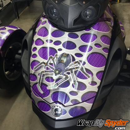 Punch-Carbon-Fiber-Purple-BRP-Can-am-Spyder-wrap