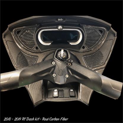 2018-2019 RT dash kit Real Carbon Fiber