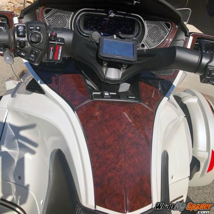 Lavish-Wood-Spyder-RT-3D-Domed-Dash-Kit