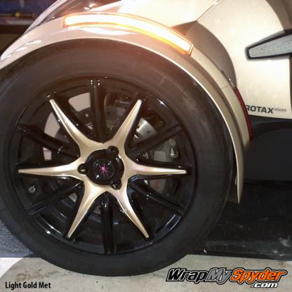 2014-2019 Spyder RT Wheel kit Light-Gold-Metallic