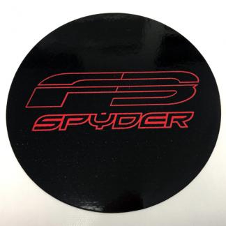 F3 Spyder emblem cover