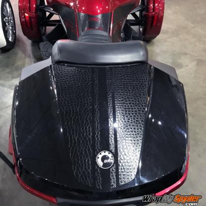 Spyder F3 Daytona-top-case-Alligator