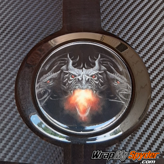 BRP Can-am Spyder Dragon-Fire-Emblem-Covers