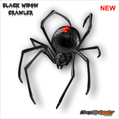 Black Widow Crawler Can-am Spyder graphics kit