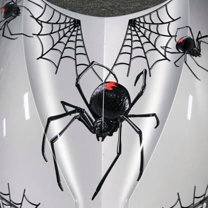 Black-Widow-Crawler can-am Spyder decal kit
