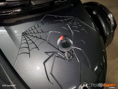BRP Can-am Spyder Black-Widow-Crawler decal set