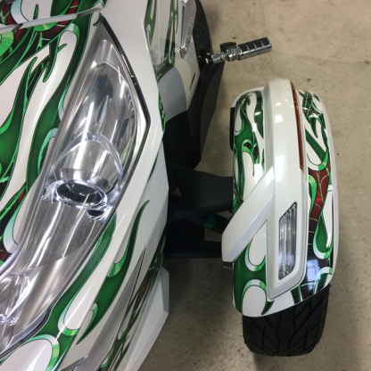 Tribal-Green-Spyder-graphics-front-new-style-fender