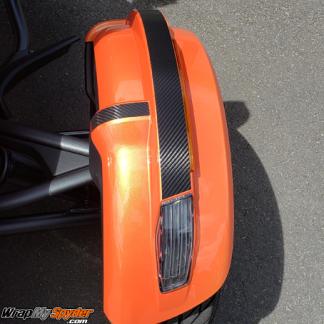 BRP Can-am Spyder 2019-up-fender-tops-kit-textured-carbon-fiber-black