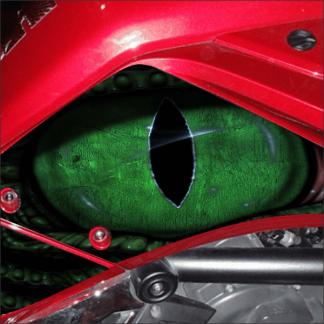 BRP Spyder F3 Eye on you knee panel kit