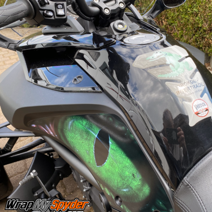 Can am spyder f3 knee panel kit EYE-on-you