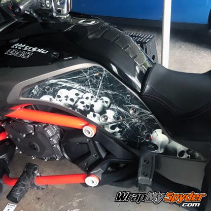 BRP Canam Spyder F3 Knee Panel kit for all models of F3