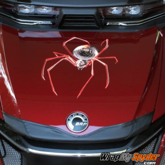 Spider-decal-kit-Black-Widow-Crawler-Red-mounted-on-2020-BRP-Canam-Spyder-RT
