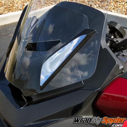 2020-BRP-Can-am-Spyder-RT and RT Limited -Chrome-Windsheild-Bracket-Kit