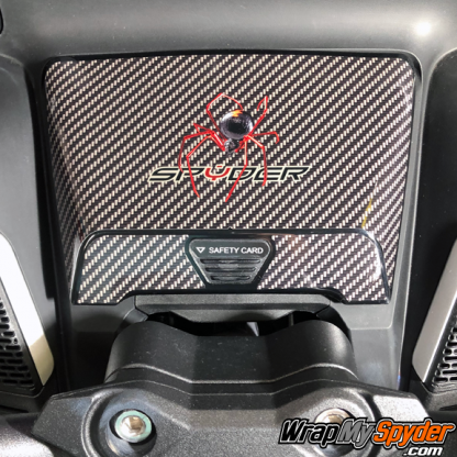 2020-BRP-Can-am-Spyder RT glove-box- with Red-Spider