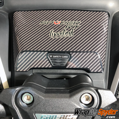2020-BRP-Can-am-Spyder RT glove box with Spyder-RT-Limited Text