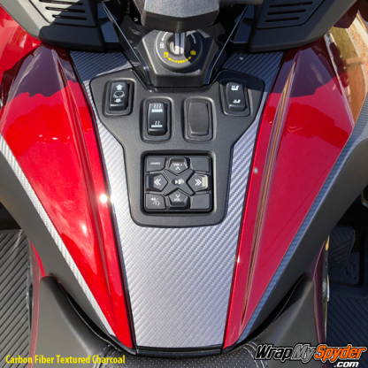 2020-BRP-Can-am-Spyder-RT-Switch-Panle-Carbon-Fiber-Textured-Charcoal
