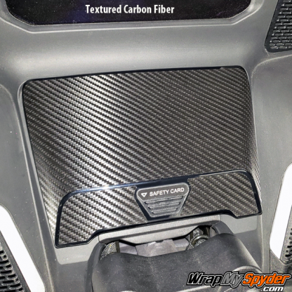 2020-BRP Can-am Spyder RT-Glove-Box-Textured-Carbon-Fiber