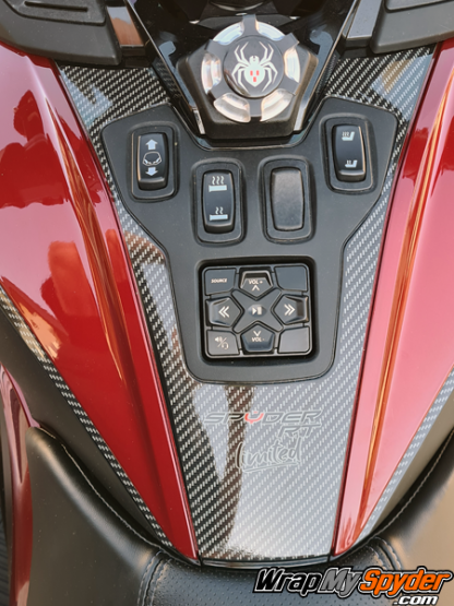 2020+-BRP-Can-am-Spyder-RT-Switch-panel-digital-carbon-fiber-with-Spyder-RT-Limited-text