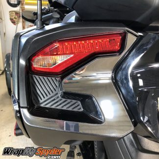 2020 BRP can-am Spyder RT Chrome Tail Light Accent Kit