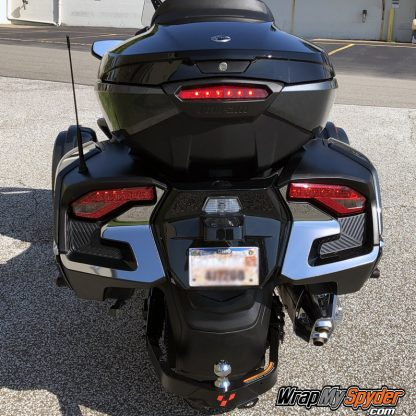 2020 Can am Spyder RT / RT Limited BRP Chrome Tail Light Accent Kit.
