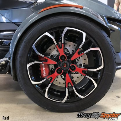 2020 BRP Can-am Spyder RT Red Wheel Kit