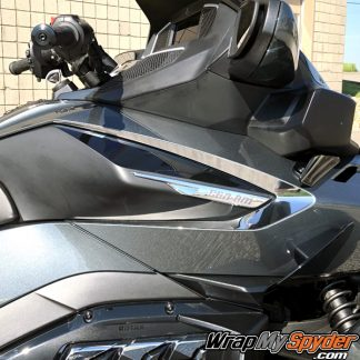 2020 Spyder Can-am RT Boomerang side sweep chrome insert
