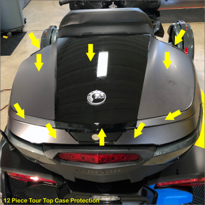 Tour Top Case Protection kit for BRP Can-am Spyder