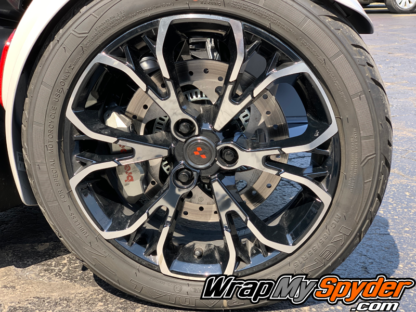 Can-am Spyder RT Chrome wheel accent kit for spokes