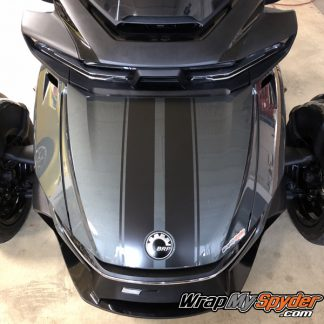 2020 Spyder RT GT racing stripes
